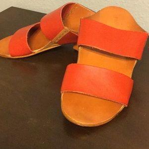 💘BDG Red sandals